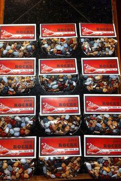 Boy Valentine Idea - Love Rocks using milk chocolate rock candies.  :)