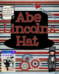 Abe Lincoln's Hat--a mini unit product from TeacherGoneHomeschool on TeachersNotebook.com