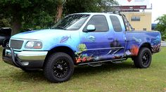 Aqua Inspired F-150 | The WrapPros @ BB Graphics | bbgraphics.com | #bbgraphics #3MCertified #thewrappros