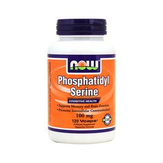 Phosphatidyl Serine, 100 mg 120 Vcaps  Book Your Order On WhatsApp Now: +971559989729  #UAESupplements
