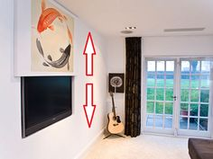 Vertical Picture Lift from Future Automation designed to hide flat screen TV's…