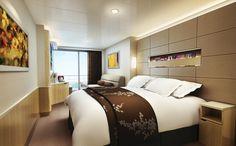 NCL Norwegian Epic Spa Mini Suite designed by PriestmanGoode