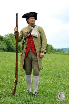 Uniform of the American Revolution | American Revolution Uniforms | Boston Tea Party Ships & Museum