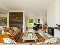 Jurnal de design interior - Amenajări interioare : Rustic și contemporan într-o casă din Palm Beach