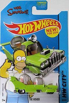Homer Simpson Car Hot Wheels Pinterest Wheels And Cars