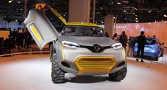 Renault Kwid Concept May Spawn Production Crossover Smaller than Captur - Carscoops