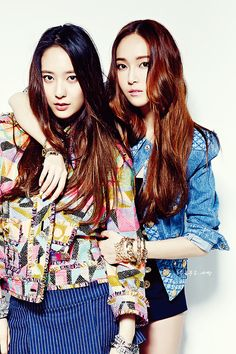 Jessica and Krystal for Nylon - Krystal Jung Photo (37118165) - Fanpop