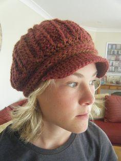 Ravelry: Newsboy Hat Pattern by Viktoria Gogolak