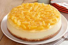 Pineapple-Topped New York Cheesecake Image 9