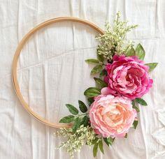 DIY : Embroidery Hoop Wreath