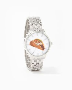 charming charlie   Time For Tacos Boyfriend Watch   UPC: 100637113…