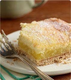 Amazing Meyer Lemon Cheesecake Bars | Krusteaz