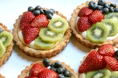 <p>Let's just agree that the presence of cream cheese and fruit make these pretty tarts appropriate for brunch or breakfast. The filling is so easy but insanely good, like a lemon-y cheesecake. It's amazing any filling was left to make it into the actual tarts. Whatever colorful fruit that's in …</p>