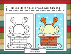 After reading the adorable book, Click, Clack, Ho! Ho! Ho! written by Doreen Cronin and Betsy Lewin  your students will be ready for this directed drawing project.  The packet contains:* Teacher directions* A directed drawing step-by-step guide* Two writing prompts (Sequencing writing prompt and creative writing prompt).