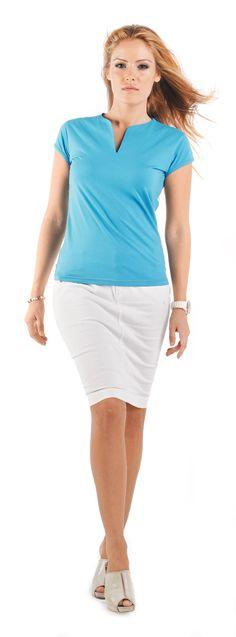 Camiseta de mujer manga corta 6532 BELICE