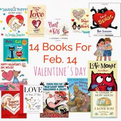 Fun Valentine Book Finds || The Chirping Moms