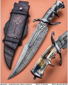 Cas x Lurquin collaboration knives