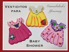 VESTIDITOS DOBLES PARA BABY SHOWER - YouTube
