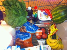 Grocery shopping on Advocare Cleanse