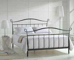 Joseph Senna 4'6 Metal Bed