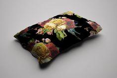 Dark Floral Garden Duvet Cover
