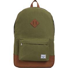 #Backpacks, #HerschelSupplyCo, #LaptopBackpacks - Herschel Supply Co. Heritage Army - Herschel Supply Co. Laptop Backpacks