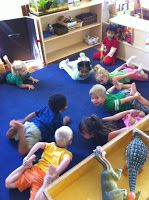 """Pirate """"Yoga"""" (from Beansprouts Preschool Blog)   Bow pose=""""the Boat pose"""" Crow pose=""""Parrot pose"""" Wave=moving up and down like the ocean Half moon pose=""""Pirate's hook pose"""" Tree pose=""""Pegleg pose"""" Shavasana=""""Calm waters"""""""