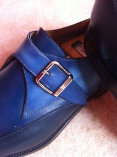 Close up of the 533 buckle model three blue combo after the work of Paulus Bolsen. It takes definitely the light much better.