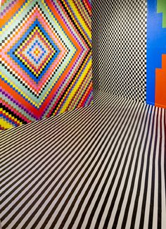 Juxtapoz Magazine - Walking Into a Gif: Installations by Dominique Pétrin