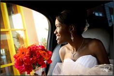 Exiting Limo Pelican Bay Hotel Wedding - Mario Nixon Photography