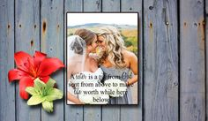 Personalized Picture Frame Plaque- Sweet Lilie Creations    Thank you for visiting my shop and choosing Sweet Lilie Creations to make your
