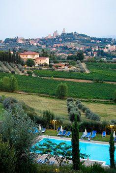 Villa Ducci - San Gimignano, Italy