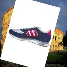 Adidas Zx 850 Running Shoes men's Navy Blue/White/Pink HOT SALE! HOT PRICE!