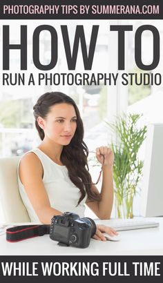 How to Run a Photography Studio While Working Full Time  Starting a business on your own is scary. Most photographers will come to a point in their lives where they must decide whether they carry on with photography as just a hobby, or whether they turn it into a professional endeavour.  For many people, the solution is starting up the business and trying to run it at the same time as carrying on with full time work.