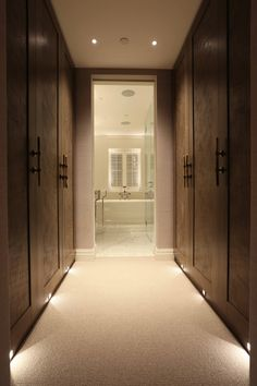 Good lighting for wardrobes at night to not wake partner