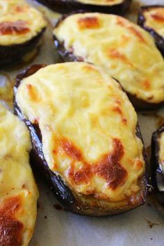 Greek Stuffed Eggplant Papoutsakia 30 days of Greek food is part of Greek recipes - Greek stuffed eggplant with meat sauce, topped with a rich béchamel sauce is one of the heartiest and most filling dishes of the Mediterranean cuisine Vegetable Recipes, Vegetarian Recipes, Cooking Recipes, Healthy Recipes, Greek Food Recipes, Best Greek Food, Greek Desserts, Healthy Nutrition, Drink Recipes