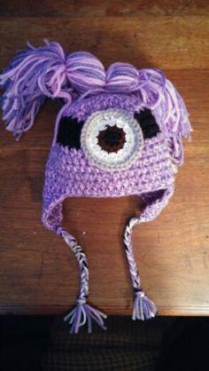 Tiny Evil Minion hat