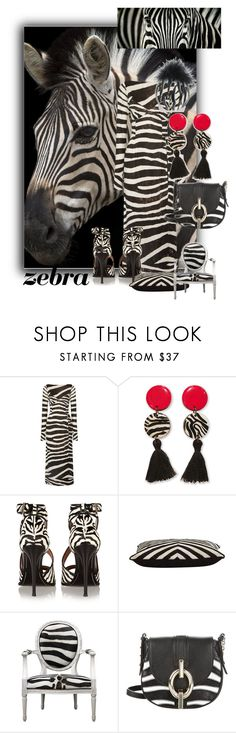 """""""ZEBRA Contest """" by sabine-promote ❤ liked on Polyvore featuring Marc Jacobs, Givenchy, Jayson Home and Diane Von Furstenberg"""