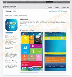 Aimox Care iOS iPhone App Design, Development & Production