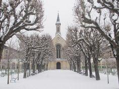 Issy les Moulineaux - Les Jardins du Caroussel - Janvier 2013