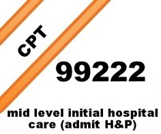 Mid level initial hospital care free E/M CPT® coding lecture.