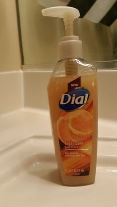 #GIVEAWAY: Win Dial® Sugar Cane Husk Scrub Hand Soap (Ends 4/17)