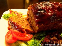Meatloaf never tasted so good.  The perfect comfort food!