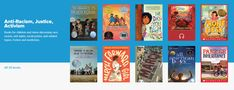Books for children and teens discussing race, racism, civil rights, social justice, and related topics, fiction and nonfiction.