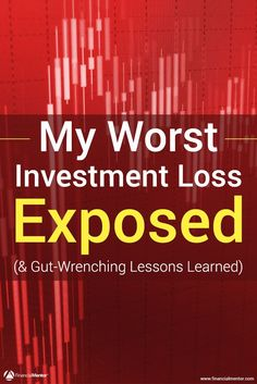 In this article I reveal the whole story about how I lost 100% of my invested capital many years ago, and the investment mistakes I made to create this disastrous result. Learn from them to shortcut your way to success with investing and building wealth.