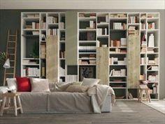 Libreria a giorno componibile NATURAL | Libreria - Olivieri
