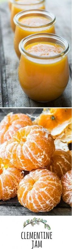 Clementine Jam - Refrigerator - Trending Refrigerator for sales. - A deliciously fresh tangerine jam to brighten up your winter mornings! This no can method makes a small batch refrigerator or freezer jam quick and easy. Clementine Jam, Clementine Recipes, Jam And Jelly, Jelly Recipes, Drink Recipes, Canning Recipes, Easy Canning, Freezer Jam Recipes, Dose