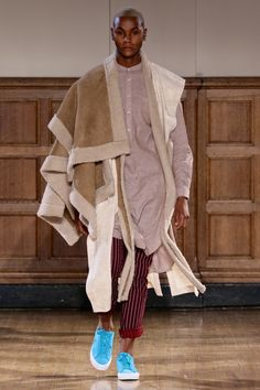 ALC Menswear AW18 • Look 1 Shoes: Converse One Star • Photo: SDR Photo Garments available to source on request • #ALCman #amandalairdcherry #SAMW #avantegarde #ratedonestar