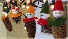Varázspor: Karácsonyi manók tobozból