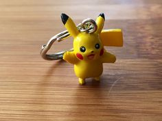 Pikachu Pokemon Keychain, Pikachu Keychain, Pokemon Keyring, Kids Keychains, Backpack Keychain, Toy Keyrings, Pokemon Keychain